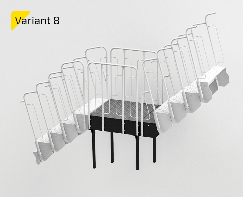 variant of modular stairs